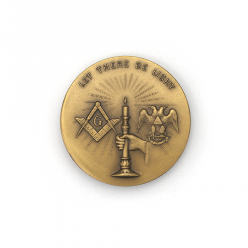 Let There Be Light Supreme Council Coin
