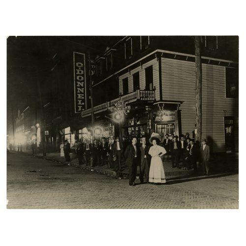 Lewis H. Hine Street Photograph