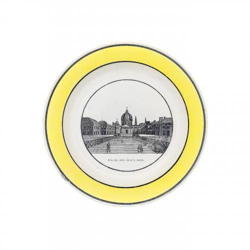Palis Des Beaux Arts Decorative Plate