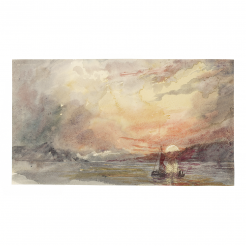 19th century, circa the 1860s in the Manner of Joseph Mallord William Turner