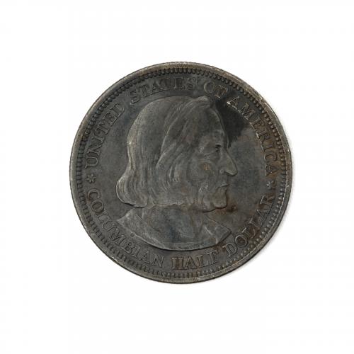 Columbian Half Dollar Commemorative Coin