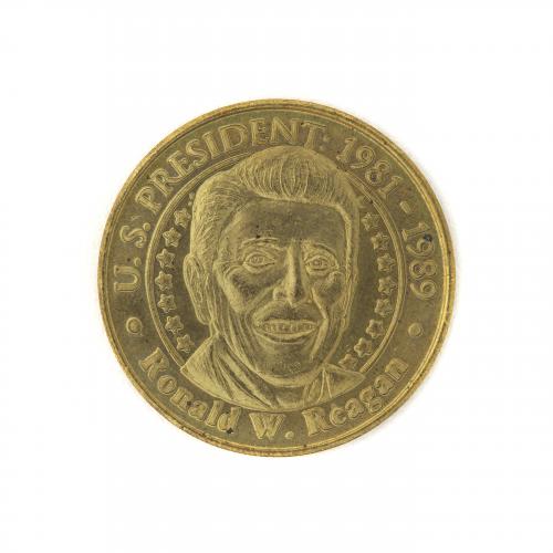 Ronald Regan U.S. President Collectible Coin