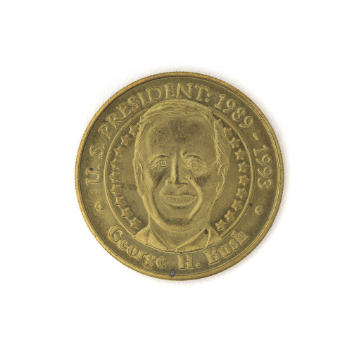 U.S. President George H. Bush Collectible Coin