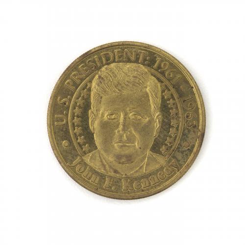U.S. President John F. Kennedy Collectible Coin
