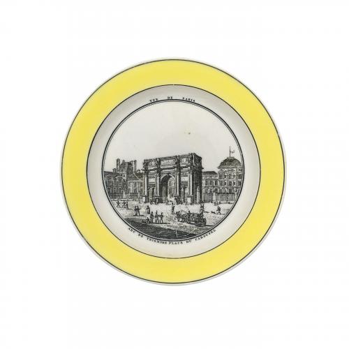 Vue De Paris Decorative Plate