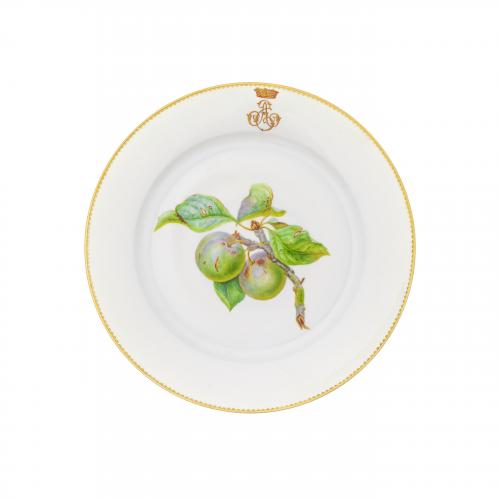 Serves French Porcelain Passionfruit Decorative Plate