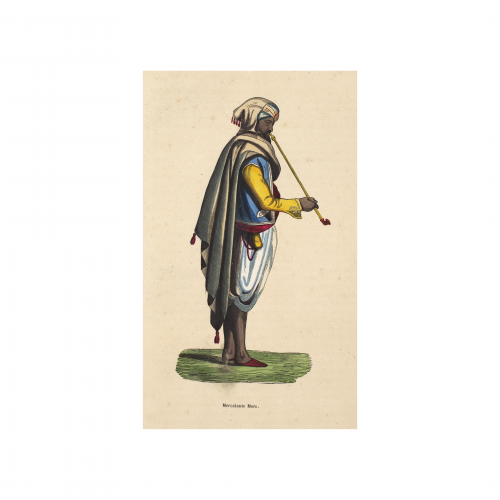 Arabian Merchant Antique Art Print