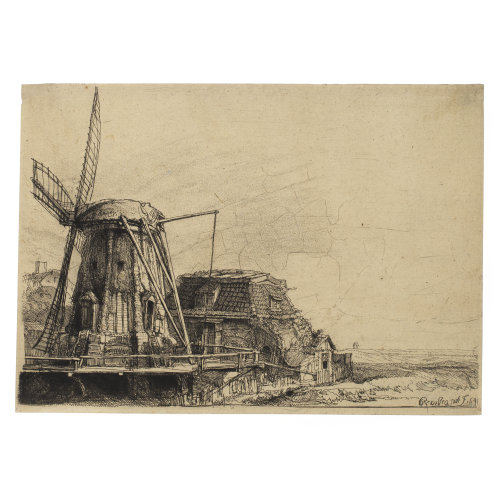 Rembrandt Van Rijn The Windmill