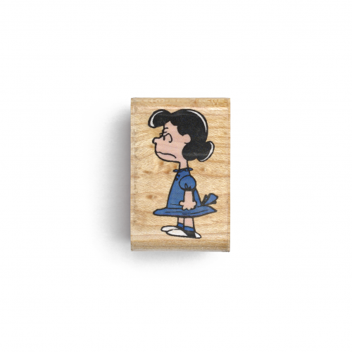 Angry Lucy Rubber Stamp