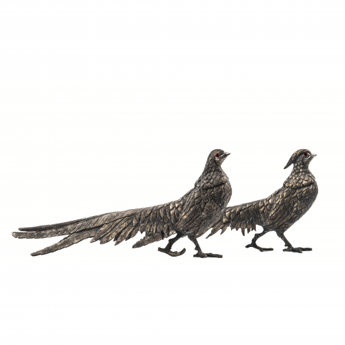 Silvered Table Pheasants