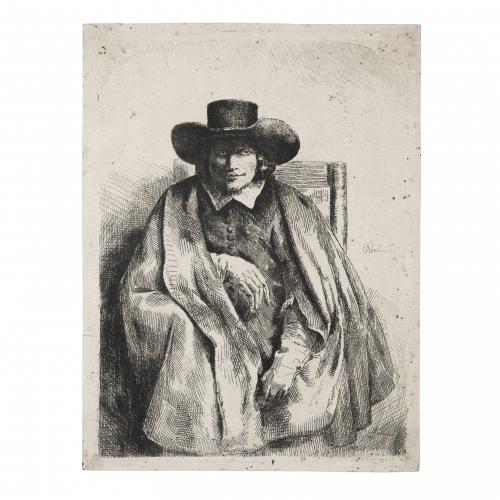 Rembrandt van Rijn Clement de Jonghe Printseller