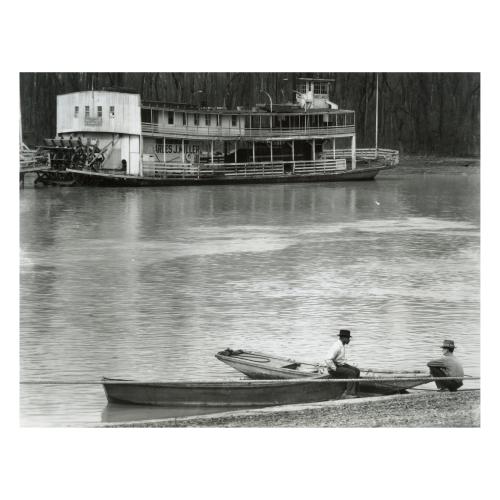 Walker Evans Ferry River Men Vicksburg Mississippi Photograph