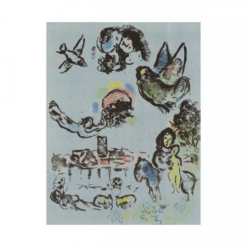 Chagall Nocturne In Venice