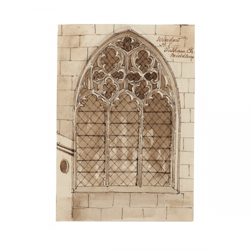 All Saints Church Fulham Window Drawing