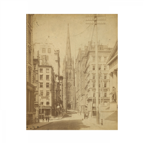 Old Wall Street Photograph