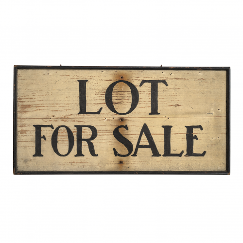 Old Hand Painted For Sale Sign
