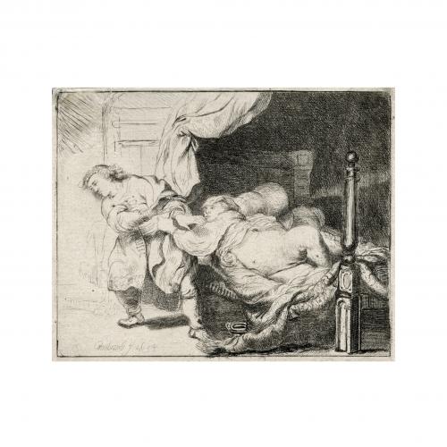 Rembrandt Harmensz Joseph and Potiphar's Wife