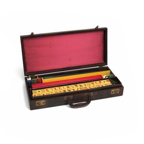 Vintage Mahjong Game Set