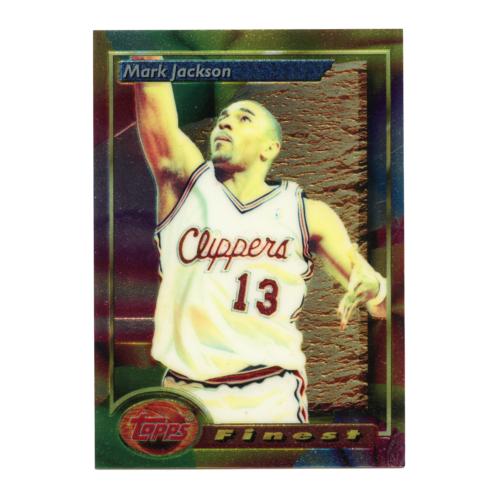 Mark Jackson 1994 Topps Finest Refractor Basketball Card