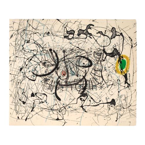 Joan Miro Fissures
