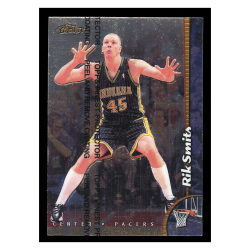 Rik Smith 1999 Topps Finest #178 Indiana Pacers Basketball Card