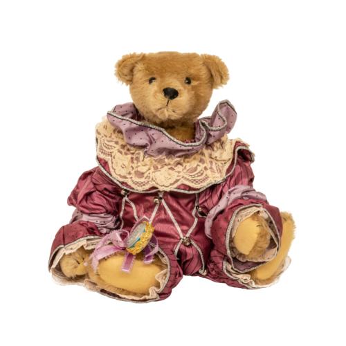 Vintage Gorham Court Jester Teddy Bear