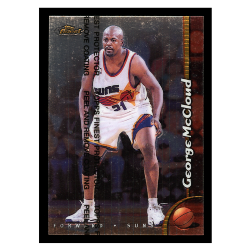 George McCloud 1999 Topps Finest
