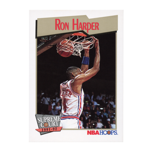 Ron Harper 1991-1992 Supreme Court Basketball Card