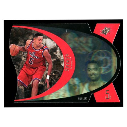 Juwan Howard 1997 Upper Deck Spx #50 Washington Bullets Basketball Card