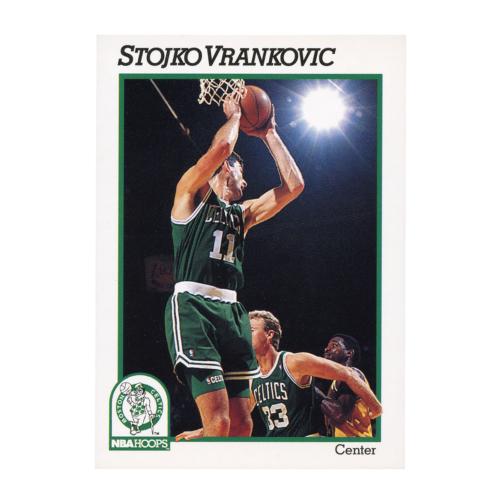 Stojko Vrankovic 1991 NBA Hoops