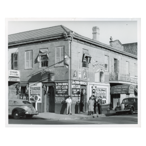Marian Post Wolcott, August 1940 - Old building. New Orleans, Louisiana - Gelatin Silver Print, FSA (Farm Security Administration)