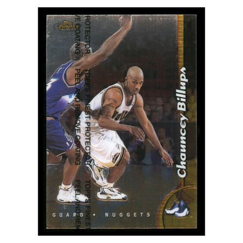 Chauncey Billups 1999 Topps Finest #191 Dever Nuggets Basketball Card
