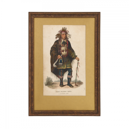 Native American Chippeway Chief Art Print
