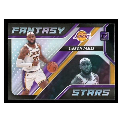 Lebron James 2020 Panini Fantasy Stars #1 Los Angeles Lakers Basketball Card