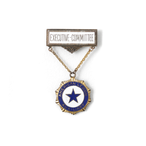 Sterling Silver American Legion Auxiliary Medal
