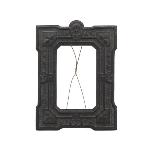 Antique Gutta Percha Picture Frame