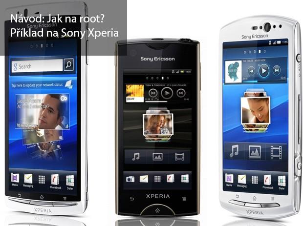 Jak na Root Sony Xperia