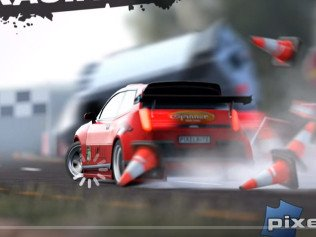 Android hra Reckless Racing 2