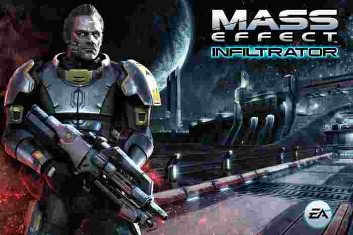Mass Effect Infiltrator android hra
