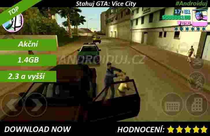 Stahuj GTA Vice City android hru
