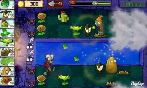 Android hra Plants vs Zombies