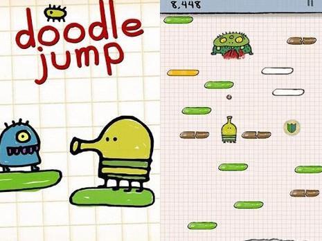 Doodle Jump hra na mobil