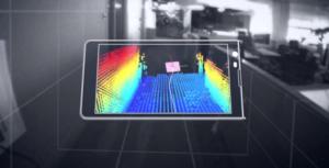Project Tango - 3D snímání