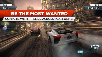 Need For Speed Most Wanted Android ke stažení