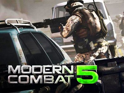 Modern combat 5 android hra