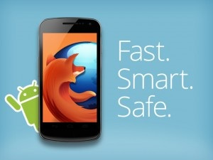 Firefox pro android. Verze 34