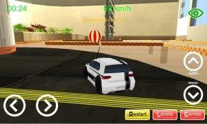 Závodní hra Lobby Racer 3D