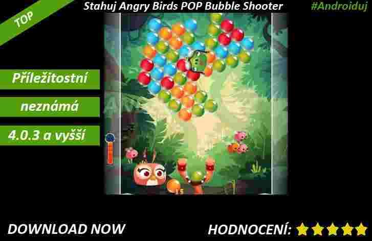 Angry Birds POP Bubble Shooter ke stažení
