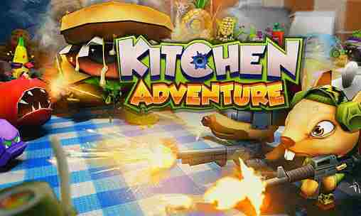 Kitchen Adventure 3D android game, hra