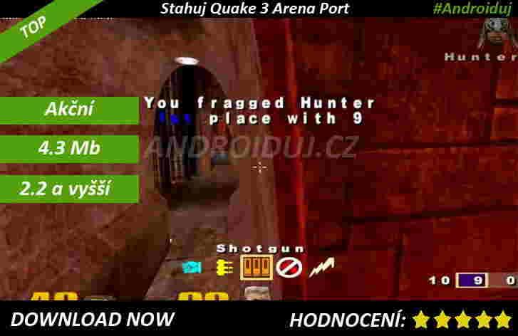 Quake 3 Arena - ke stažení